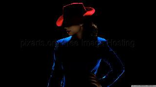 agent carter red hat wallpaper 1366x768