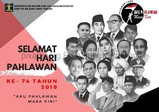 Selamat hari pahlawan Indonesia